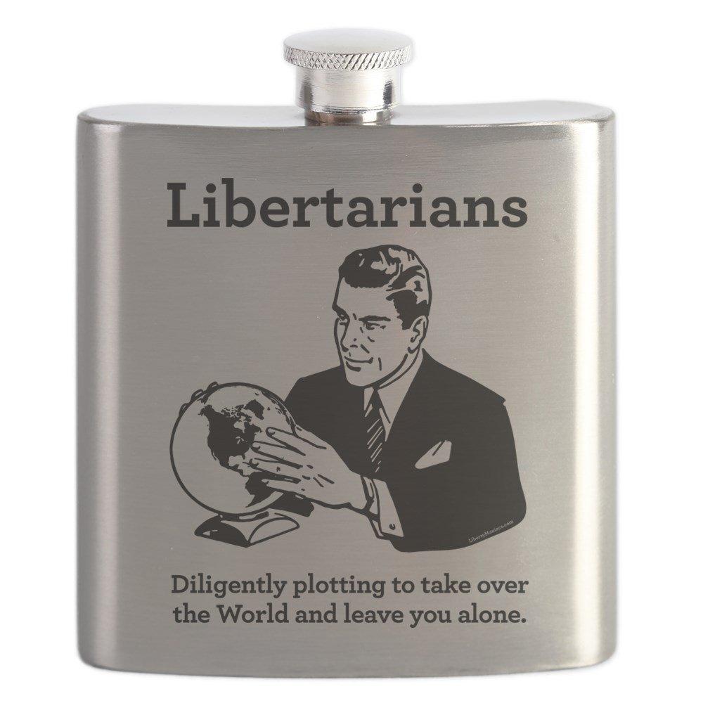 当店の記念日 CafePress B01IUF56SW – the Libertarian印刷 – ステンレススチールフラスコ the、6オンスDrinkingフラスコ – B01IUF56SW, サントクレア:4b36e977 --- preocuparse.me