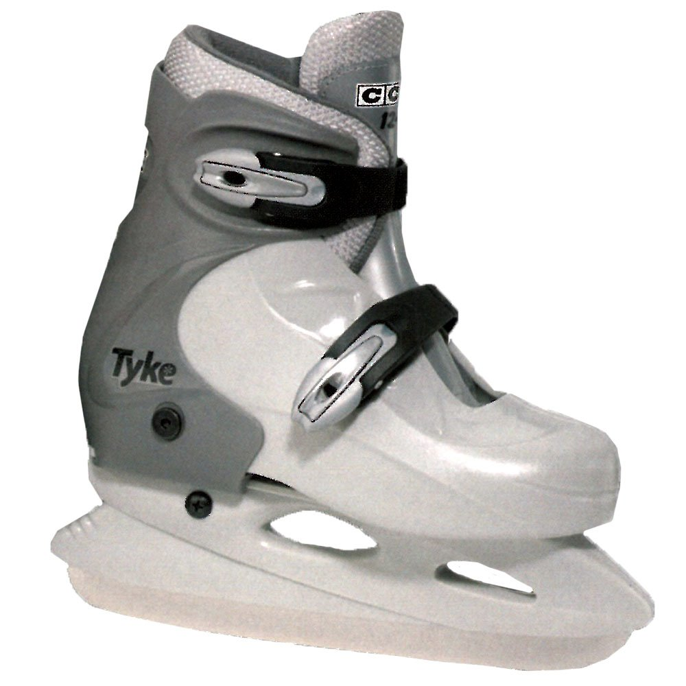 MASKA - CCM U.S. Inc. Molded Extended Youth Recreational Ice Skates - Large, D by CCM