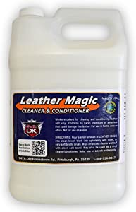 Detail King Leather Magic Cleaner & Conditioner Gallon