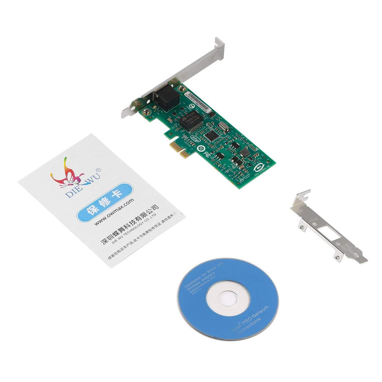 JohnJohnsen Tarjeta de Red Ethernet Gigabit DIEWU 82574L ...