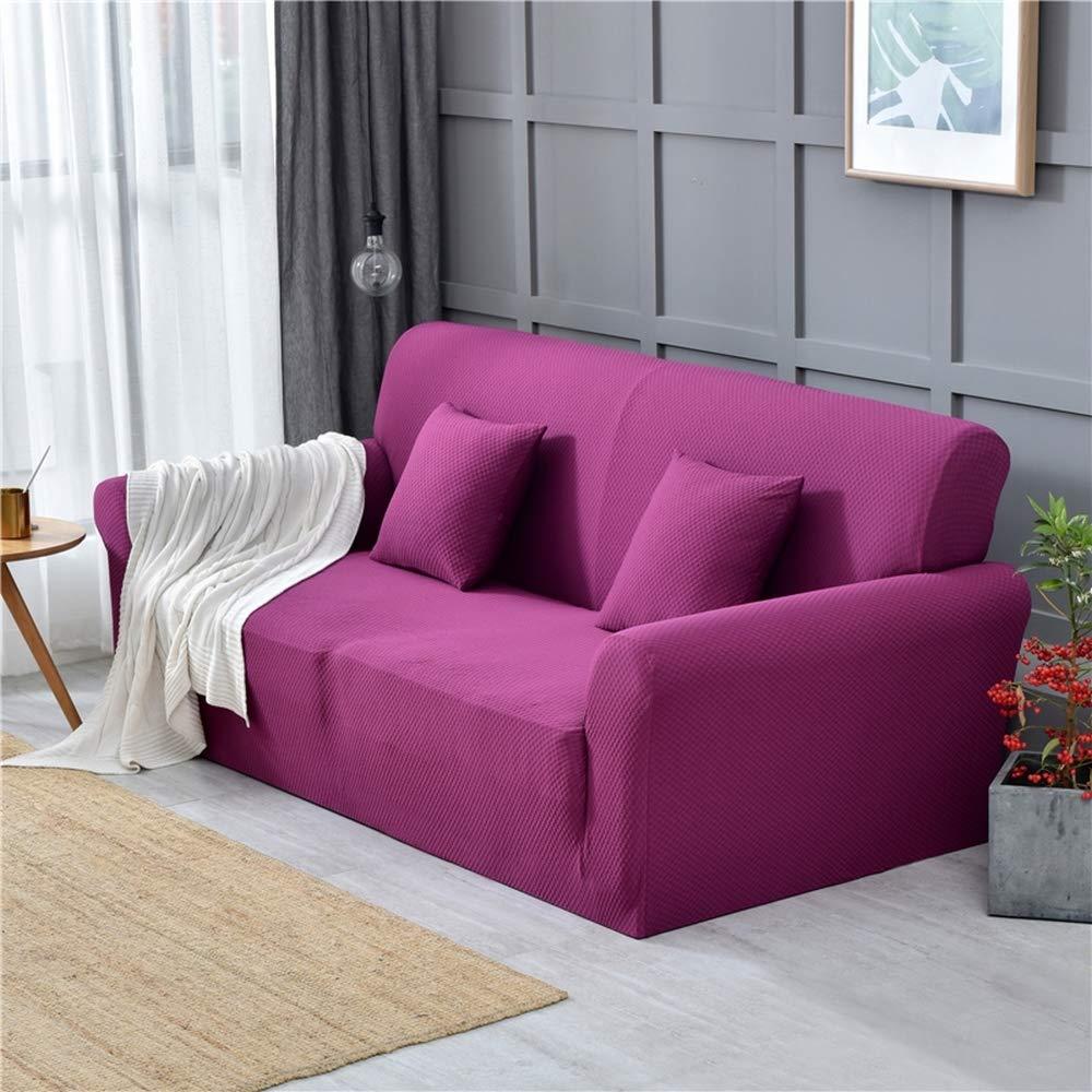 CHYOOO Funda De Sofa Color Puro, Buena Transpirabilidad ...