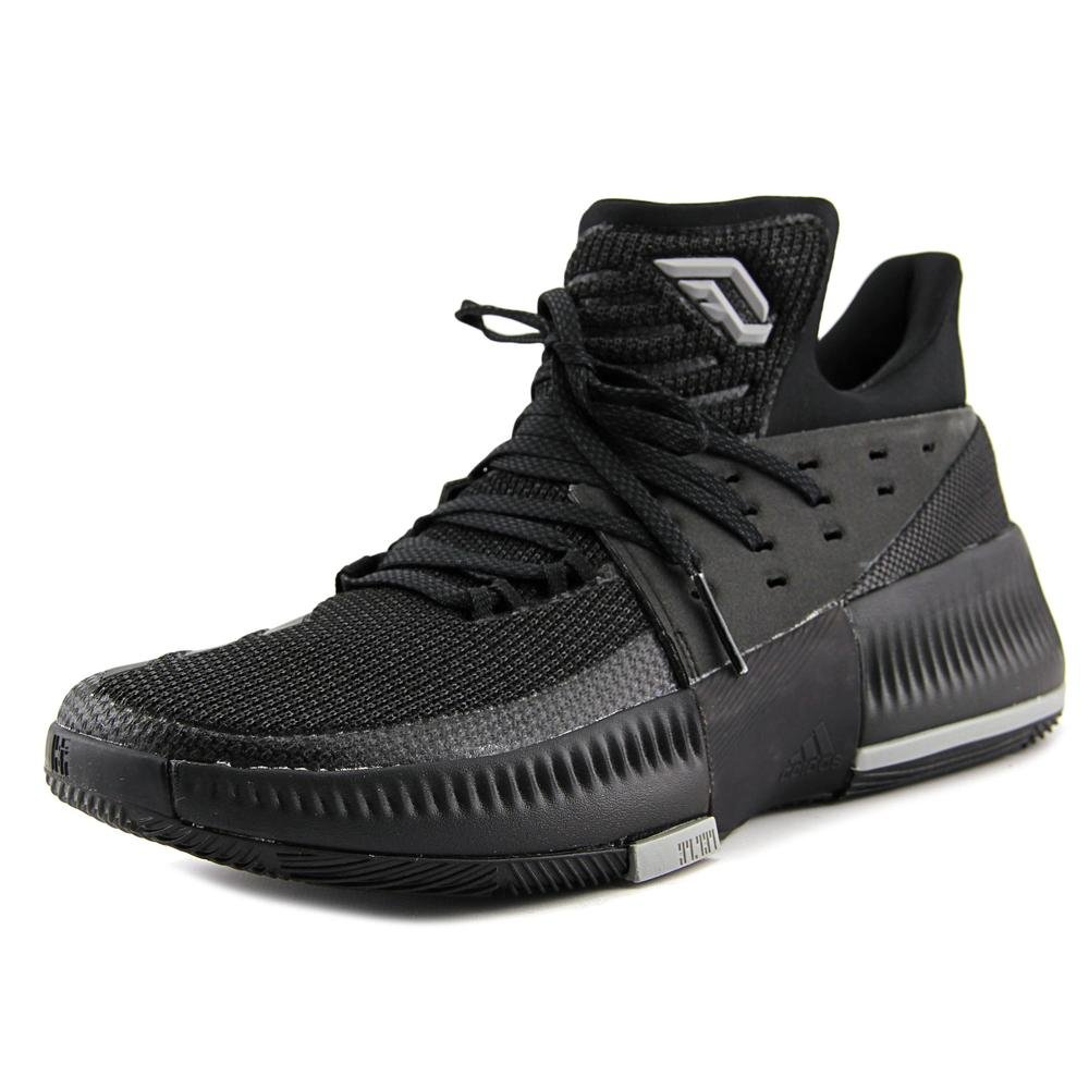 finest selection 83ceb b95be Galleon - Adidas Dame 3 Shoe Mens Basketball 10.5 Core Black-Core Black-Solid  Grey