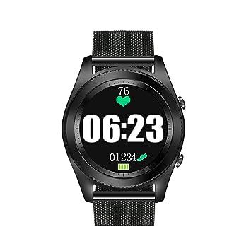 Docooler NO.1 S9 NFC Frecuencia Cardíaca Smart BT Reloj Deportivo Seguidor de Salud Notificación de llamada Anti Perdidos Monitor de Sueño para iOS de ...