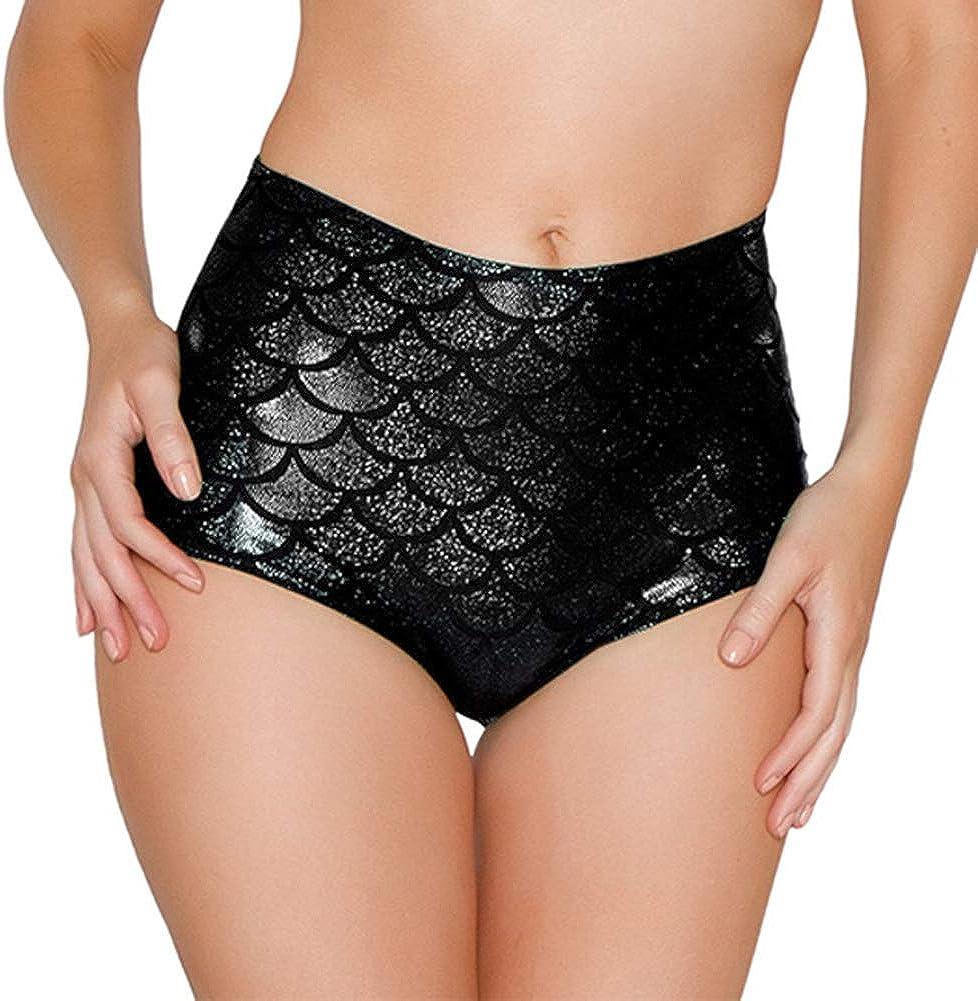 Lucidi a Forma di Sirena HOT DREAM Pantaloncini da Donna a Vita Alta