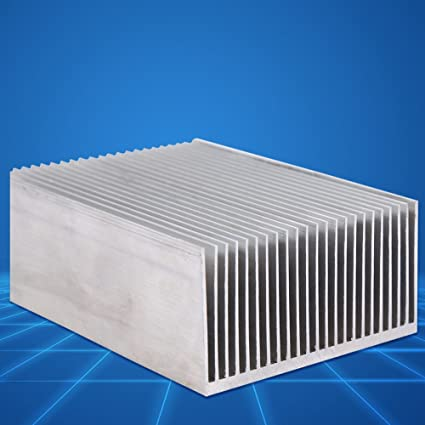 100x41x8mm Aluminum Heat Sink Heatsink For High Power LED Amplifier TransistNIHH