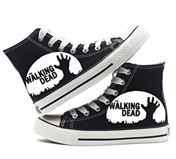 The Walking Dead Shoes Canvas Shoes Sneakers White/Black