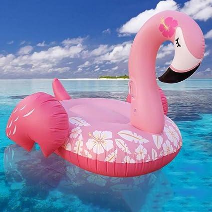 Rventric Flotador De La Piscina Anillo De Flamenco Regalo De Verano Cama Flotante Piscina Inflable Flotador