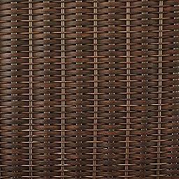 Pembrey Brown All-Weather Wicker Patio Storage Cube