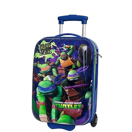 Tortugas Ninja Maleta Rígida, ABS, 26 litros, Azul: Amazon ...