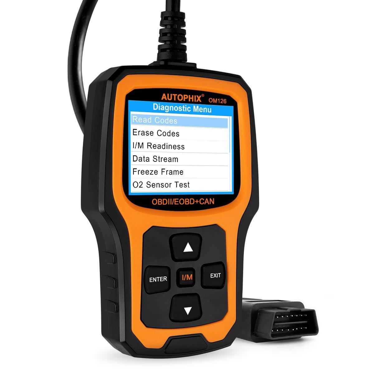 Car color code finder - Automotive Scanner Autophix Om126 Obdii Obd2 Code Reader Car Diagnostic Scan Tool Read Clear Engine Codes Color Screen Code Scanner Black