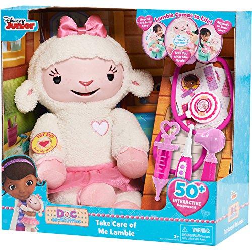 Doc McStuffins Take Care of Me Lambie Interactive Plush - Doc Mcstuffins Doll House