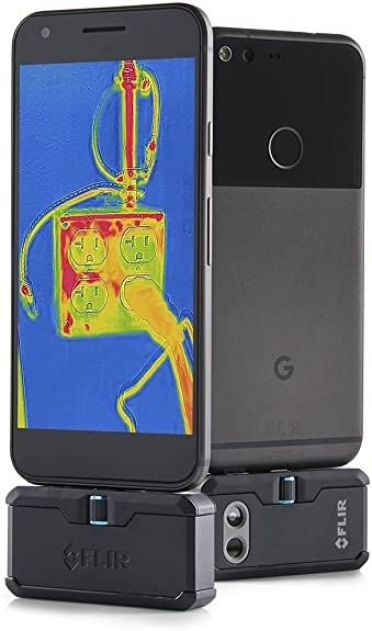 FLIR One Pro Android USB-C Professional Grade Thermal Camera for Smartphones With VividIR and MSX Image Enhancement Technology