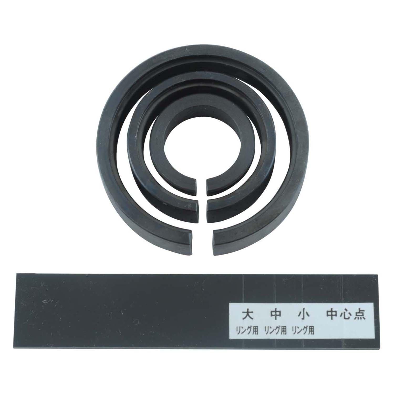 YAMATO 木工旋盤用部品 チャックリングセット Y2201 B00MQKNONW