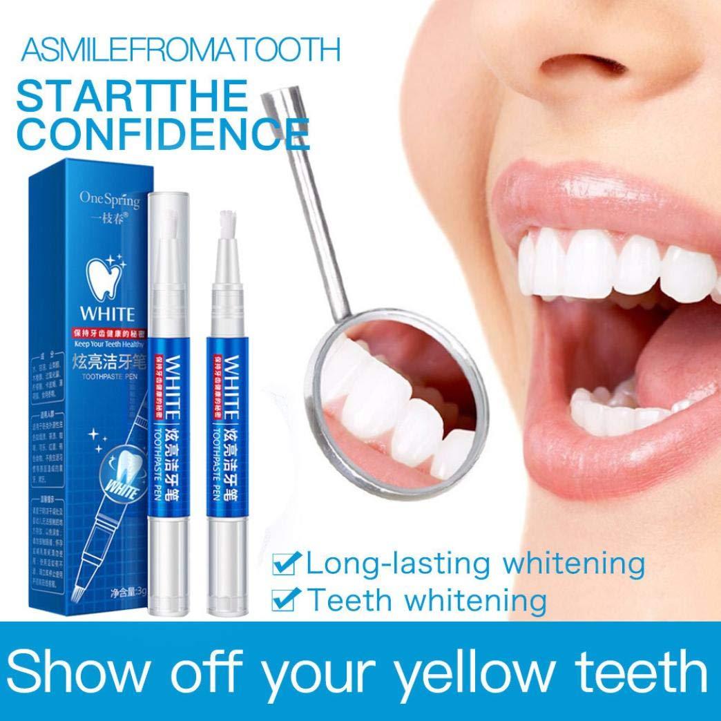 Amazon.com: Bolígrafo de gel blanqueador de dientes para ...