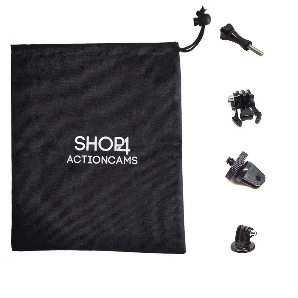 Shop4 Shop4 Shop4 - SJCAM SJ8 Pro Accessoires Set - Middel Mit Aufbewahrungstasche B07QF258TL Schnorchel-Sets Qualität und Verbraucher an erster Stelle 679a66