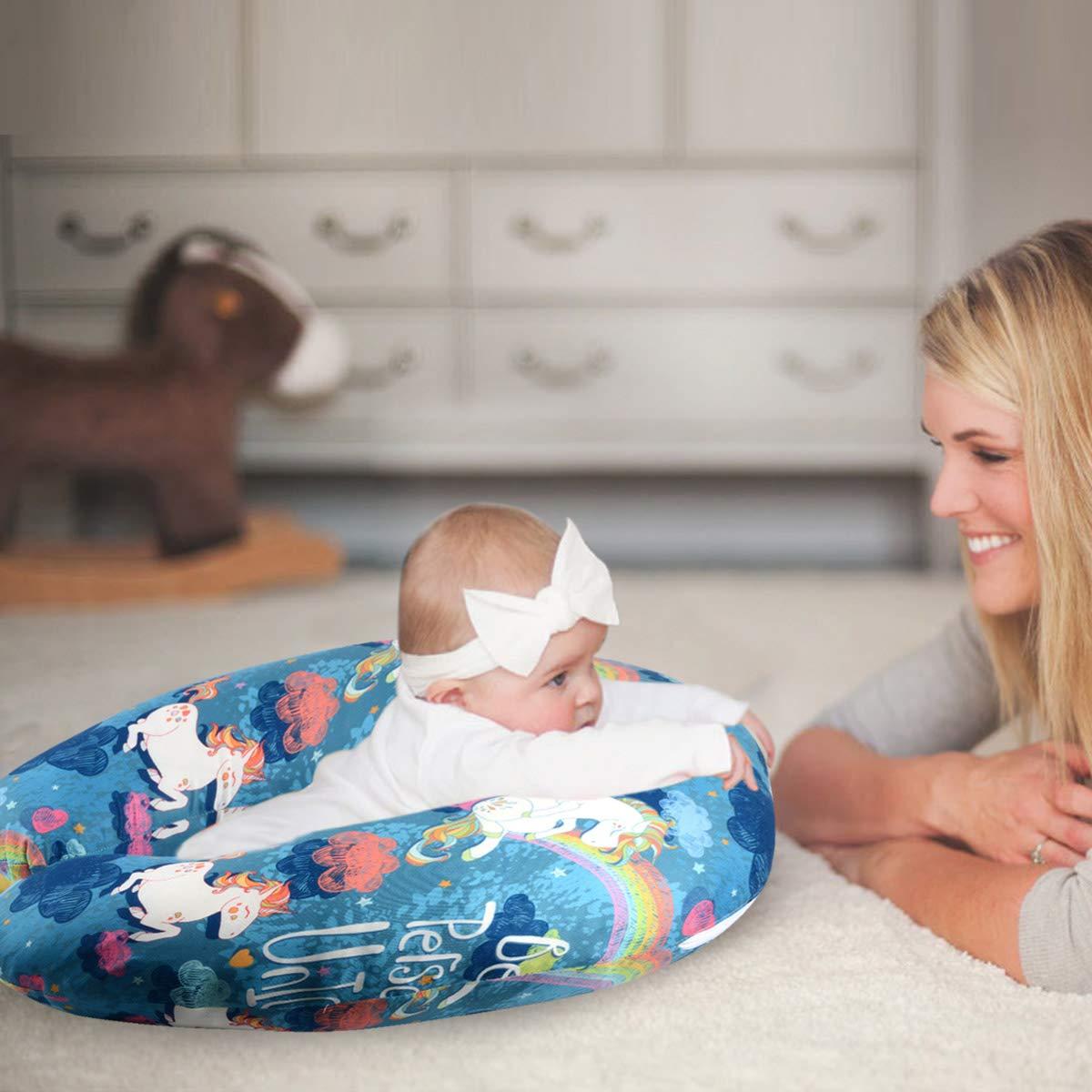 Amazon.com: Sylfairy - Funda de almohada de lactancia grande ...