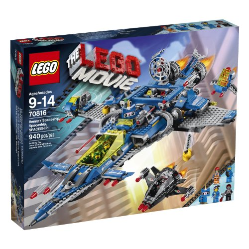 LEGO-Movie-70816-Bennys-Spaceship-Spaceship-Spaceship-Building-Set-Discontinued-by-manufacturer