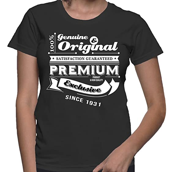 Gift For 85 Year Old Women Birthday Genuine And Original T Shirt Present
