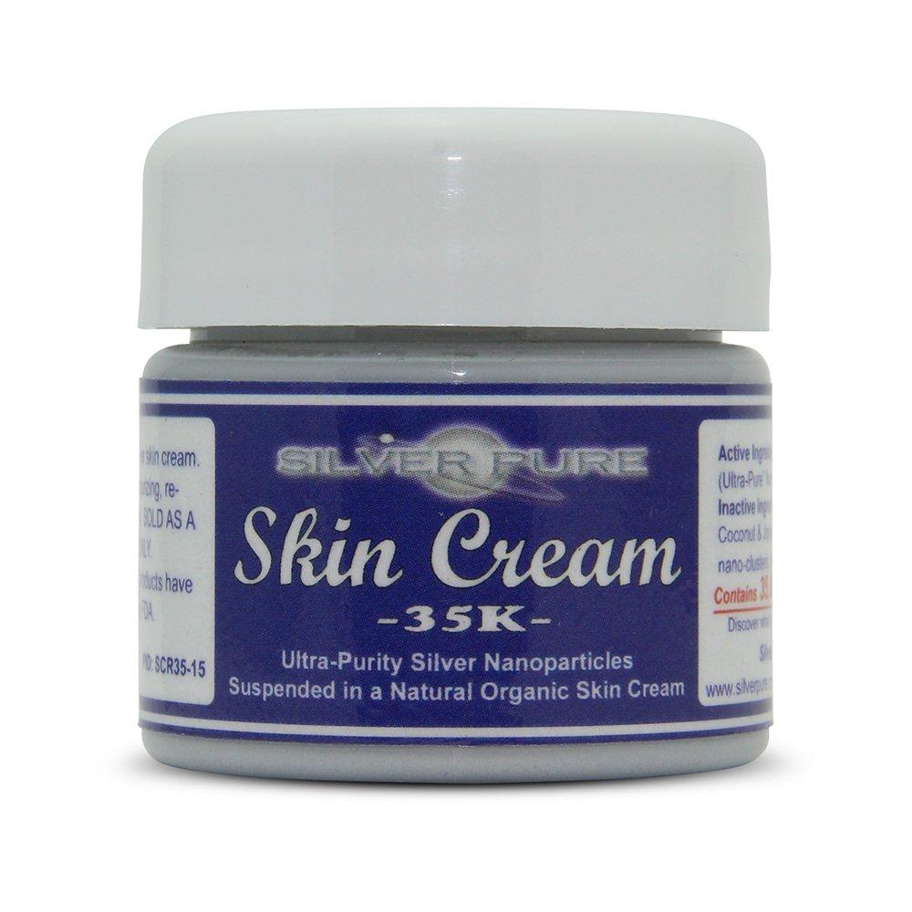Nano Silver Skin Cream 35,000 ppm - 1/2 Ounce Jar - Our Best