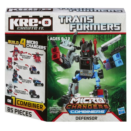 KRE-O Transformers Micro-Changers Combiners Defensor Construction Set - Kreo Transformers Combiners