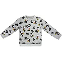 Mickey Mouse S0712672 Sweater, Gris, 3-4 a os (98-104 cm) Unisex-Child