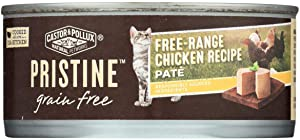 Castor & Pollux, Cat Food Chicken Free Range Grain Free, 5.5 Ounce