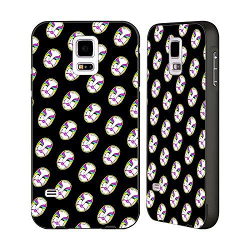 Official WWE Empress Of Tomorrow Asuka Black Aluminum Bumper Slider Case for Samsung Galaxy S5 / S5 (Empress Design Print)