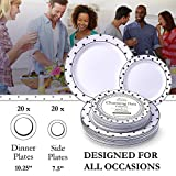 Silver Spoons Party Disposable Salad/Dessert Plates