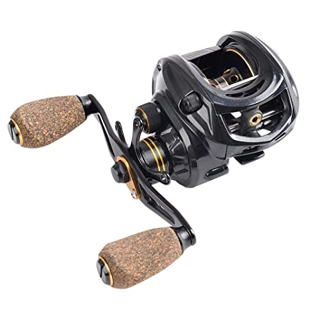 amazon com fiblink baitcasting fishing reel 9 1 ball bearings