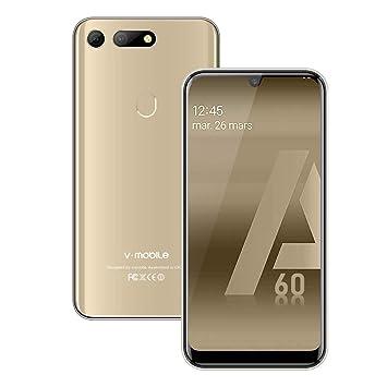 Moviles Libres Baratos 4g, Smartphone 3GB RAM 32GB ROM Quad-Core ...