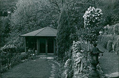 Vintage photo of Gazebo in park. (Park Gazebo)