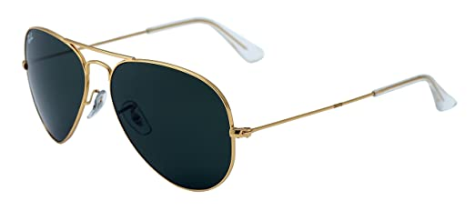 sunglasses ray ban aviator gold