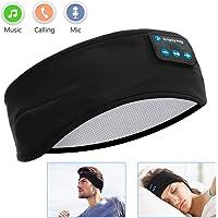 Sleep Headphones Bluetooth Voerou Wireless Headband Headphones Sports Sweatband with Ultra-Thin HD Stereo Speakers for SleepingWorkoutJoggingYogaInsomnia Travel Meditation