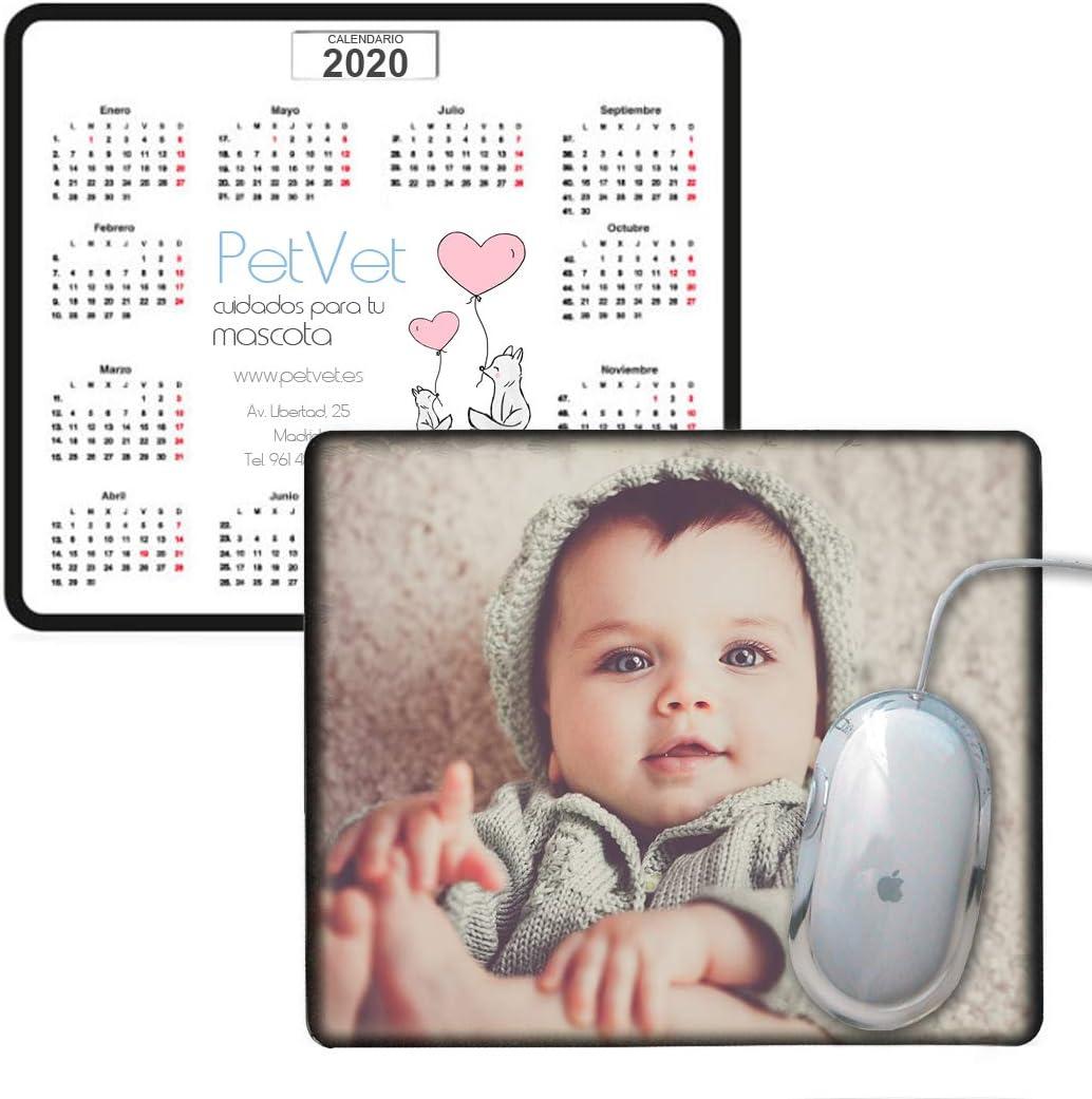 Promo shop Alfombrilla de ratón Personalizada con Calendario o fotografía. Ideal para Regalar o Hacer Publicidad de tu Empresa.