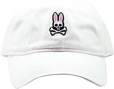 Gorra unitalla de beisbol de algodón tratado unisex Psycho Bunny ...