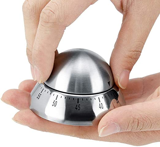 Mechanical Kitchen Timers Stainless Manual Analog Magnetic ...