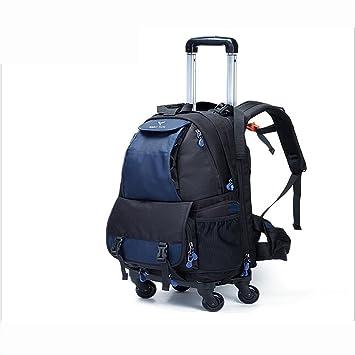 PLYY Multifunción Cámara/Mochila portátil/Backpack Polea de 4 Ruedas Rotación de 360 °: Amazon.es: Deportes y aire libre