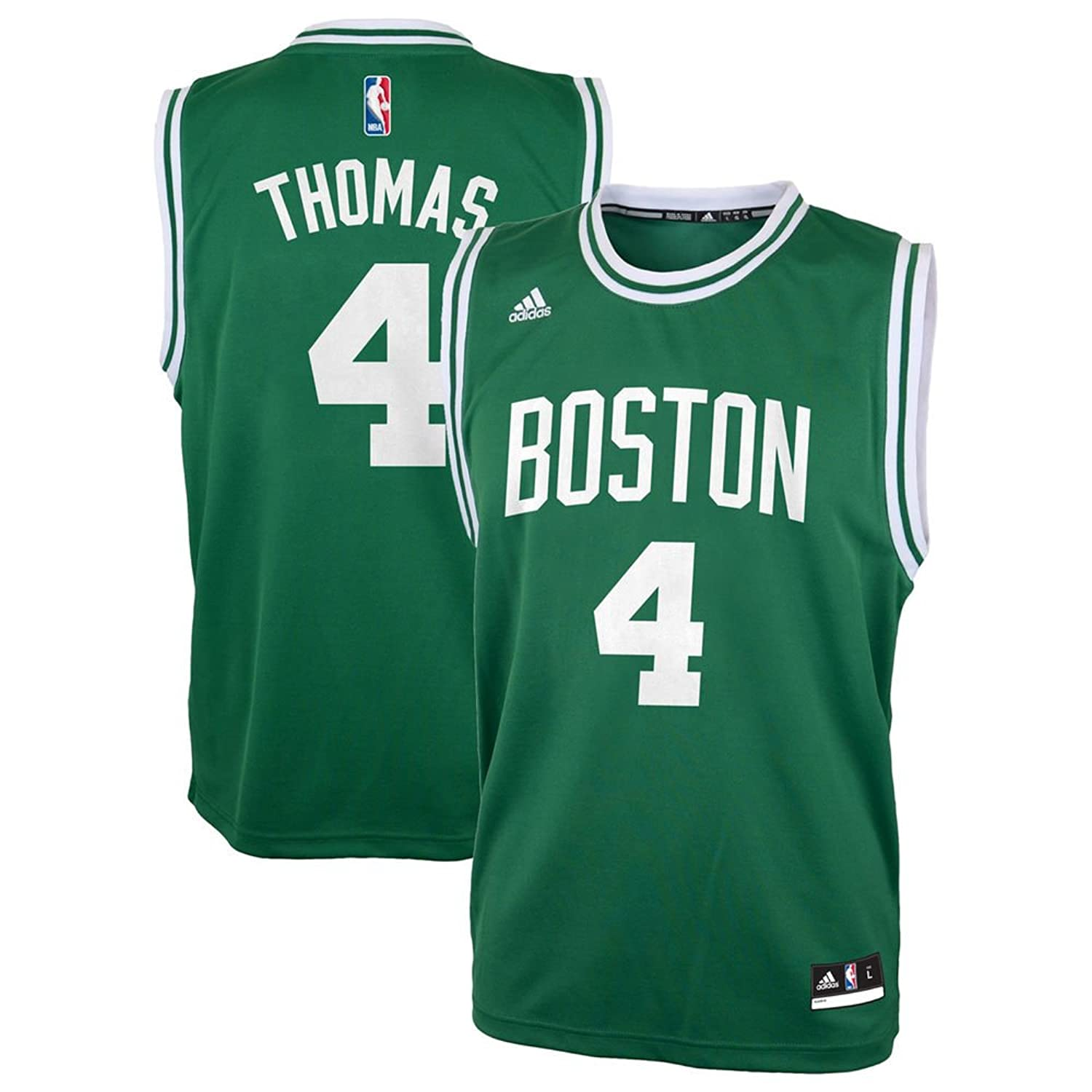 Amazon.com: Boston Celtics Isiah Thomas NBA Adidas Kids Green Road Replica  Jersey: Clothing