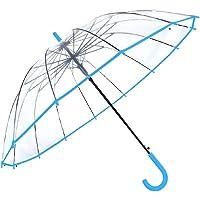 Paraguas Transparentes. Paraguas Transparente Grande, antiviento, automátifco, 14