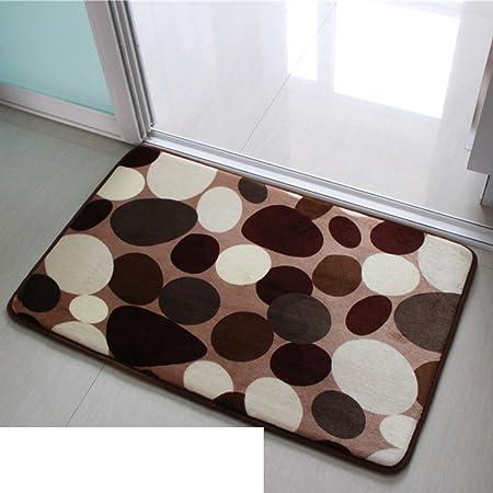 Máquina lavable agua corredera entrada puerta mat Cocina baño felpudos Manta-A 80x120cm(31x47inch): Amazon.es: Hogar