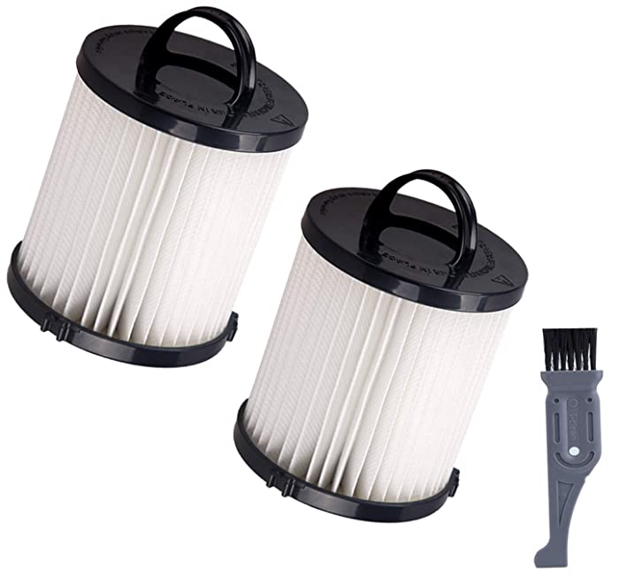 I clean DCF-21 Vacuum Filters Replacement for Eureka DCF21 Dust Cup,Washable & Reusable fit AS1000 AS1040 3270 3280 4230 4240 8810 8860 8870 Upright Vacuums 2 Pack