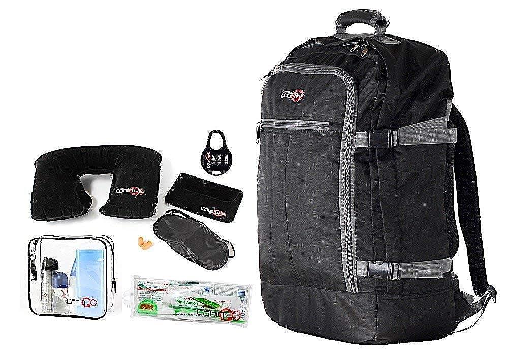 CABIN GO Sac à dos cod. Bagage à main/cabine de voyage MAX 5540, 55 x 40 x 20 cm, vol approuvé 44 litres IATA/EasyJet / Ryanair