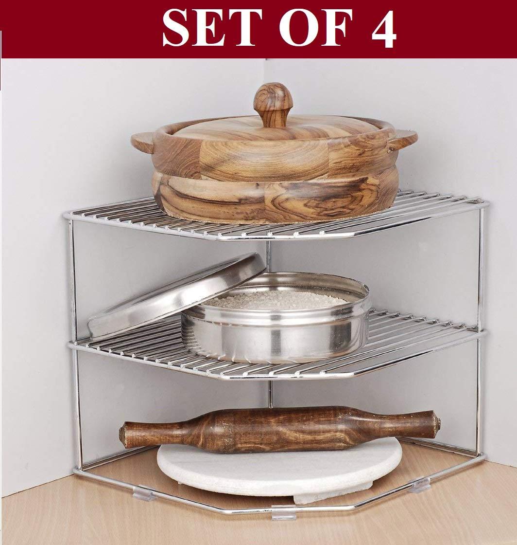 Multipurpose Kitchen Corner Shelf Rack Stand