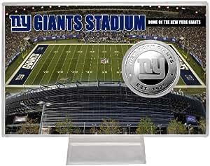 Highland Mint NFL New York Giants Giant Stadium Silver Coin Card
