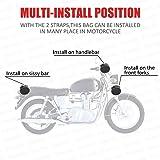 Everrich Motorcycle Handlebar Bag Small