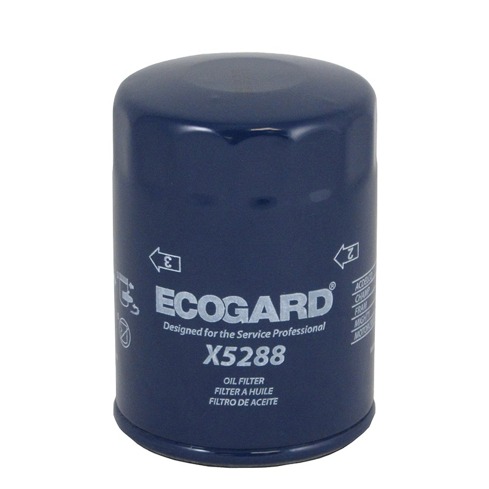 Ecogard X5288 Spin On Engine Oil Filter For Conventional 2007 Monte Carlo Fuel Premium Replacement Fits Chevrolet Impala Trailblazer Silverado 1500 Tahoe