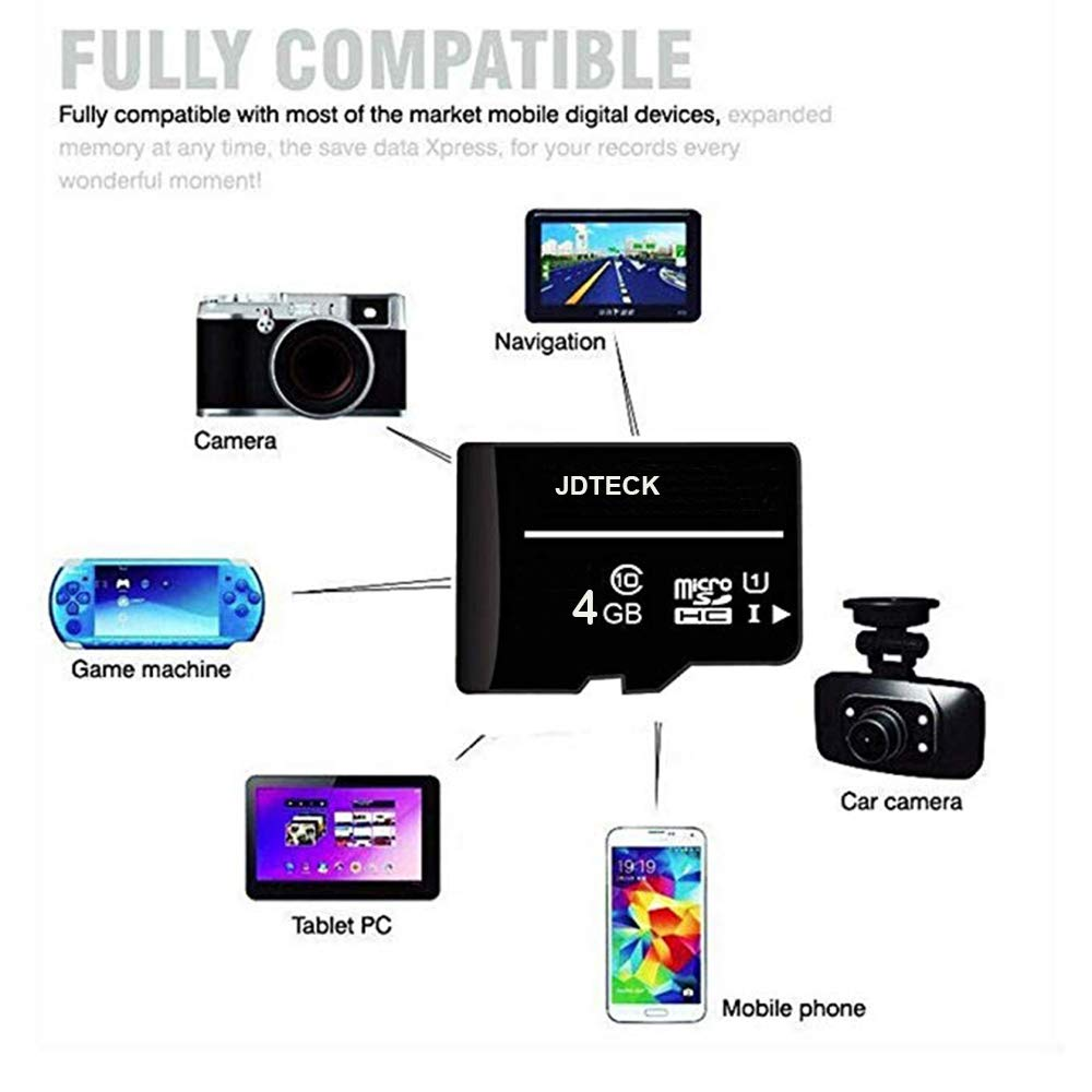 Motorola Moto X4, Tarjeta de Memoria Micro-SD JDTECK Class-10 de ...