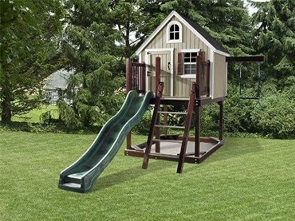 amazon com dutchcrafters treehouse loft backyard play set garden rh amazon com treehouse backyardigans full episodes treehouse backyardigans