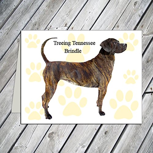 Treeing Tennessee Brindle Note Cards ()