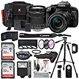 Canon EOS Rebel T7i DSLR Camera W/ EF-S 18-135mm f/3.5-5.6 IS STM Lens & 2 X Professional 32GB, Filters, Tripods, Quick Release Shoulder Strap, Flash, Remote, SD Reader/Writer, Xpix Lens Accessories